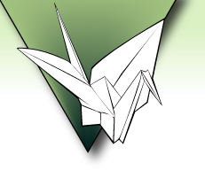 Illustrated Paper Crane